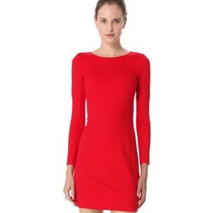 Theory Bright Red Dress